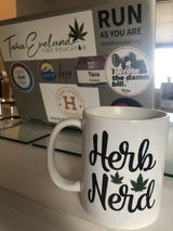 Herb Nerd Coffee Cup - Eveland Boutique