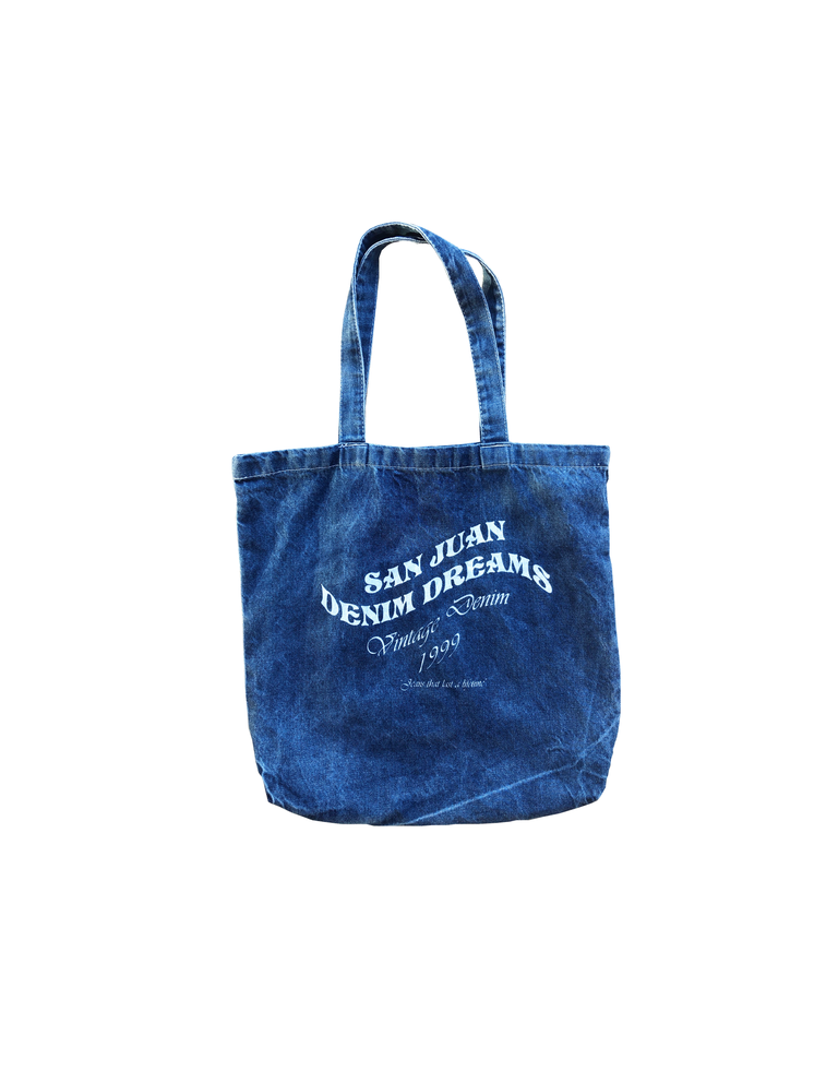Denim Dreams Tote Bag