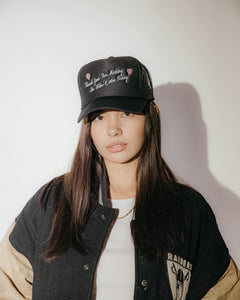 Thank You Trucker Hat - Black