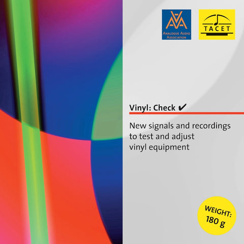 Vinyl: Check (Signals And Recordings to Test Vinyl Equipment)