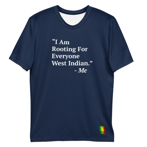 I Am Rooting: West Inidan Men's T-shirt (Set)