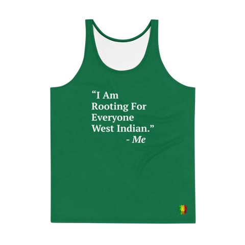 I Am Rooting: West Inidan Unisex Tank Top (Set)