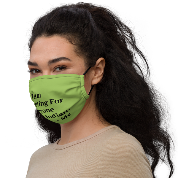 I Am Rooting: West Inidan Premium face mask