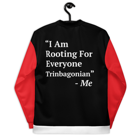 I Am Rooting: Trinibago Unisex Bomber Jacket