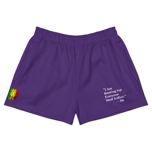 I Am Rooting: West Inidan Women's Athletic Shorts (Set)
