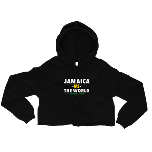Jamaica -vs- The World Crop Hoodie