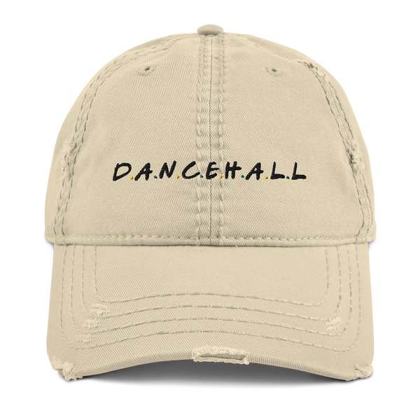 Dancehall Musicology Distressed Dad Hat
