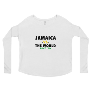 Jamaica -vs- The World Ladies' Long Sleeve Tee