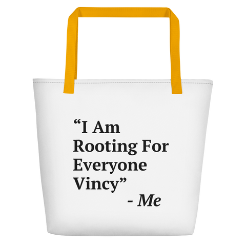 I Am Rooting: St. Vincent Beach Bag