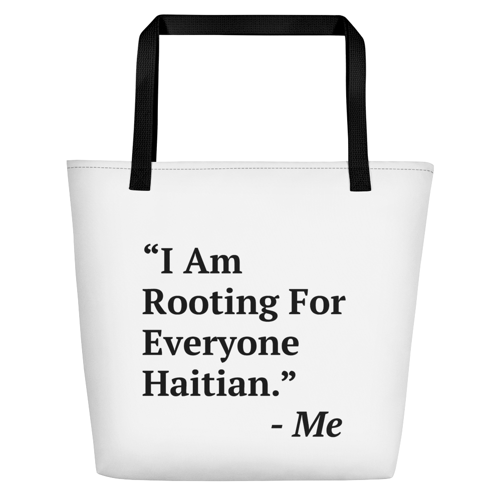 I Am Rooting: Haiti Beach Bag