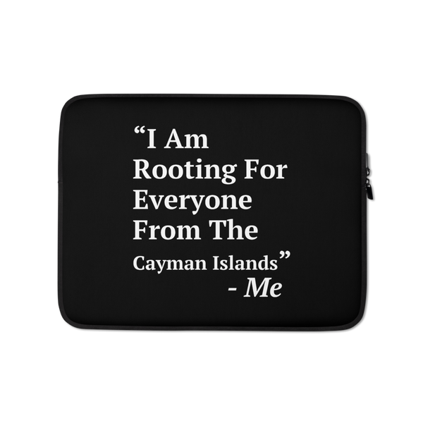 I Am Rooting: Cayman Islands Laptop Sleeve