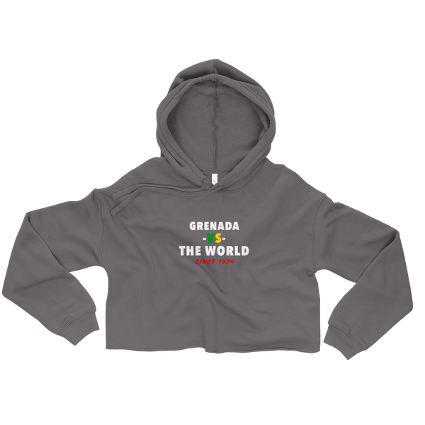 Grenada -vs- The World Crop Hoodie