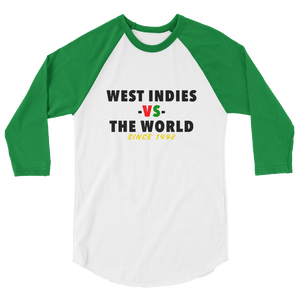 West Indies -vs- The World raglan shirt