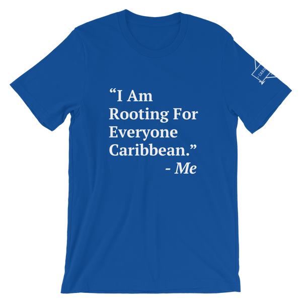 I Am Rooting: Caribbean T-Shirt