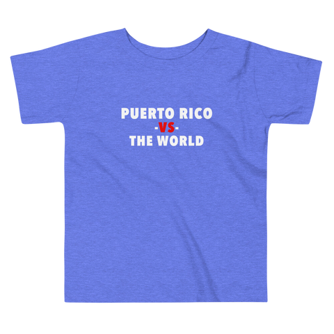 Puerto Rico -vs- The World Toddler Tee