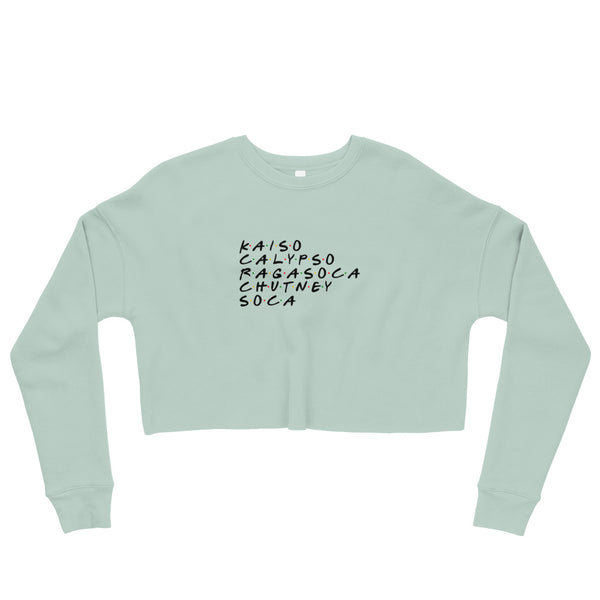 Soca Musicology Crop Sweatshirt