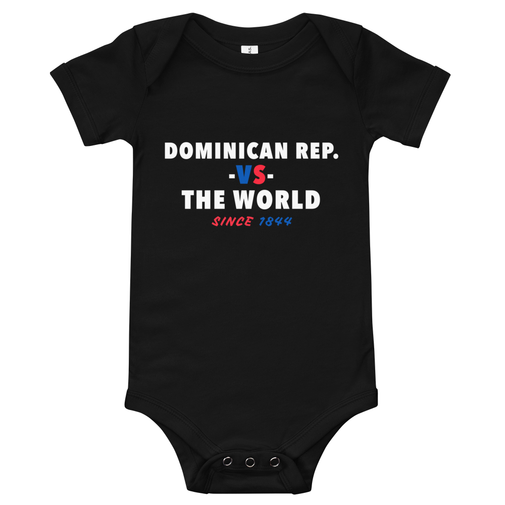 Dominican Republic -vs- The World Baby Bodysuit