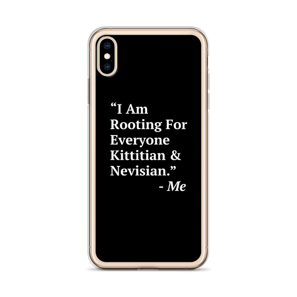 I Am Rooting: St. Kitts & Nevis iPhone Case