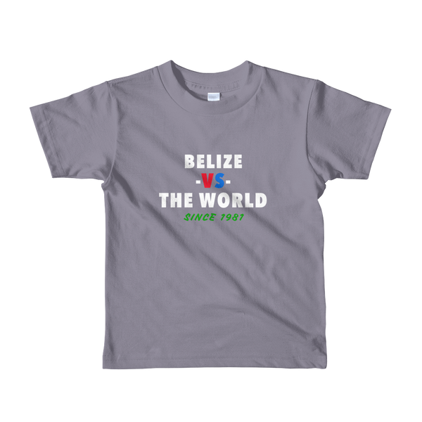 Belize -vs- The World kids t-shirt