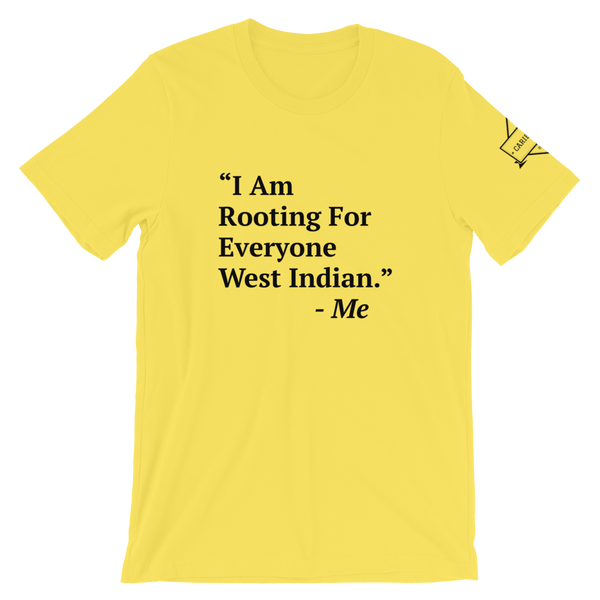 I Am Rooting: West Indian T-Shirt