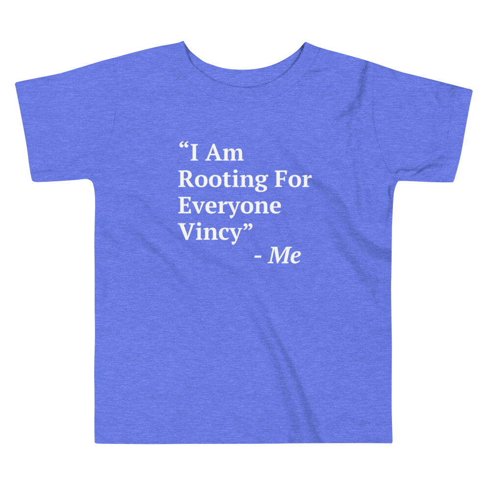 I Am Rooting: St. Vincent Toddler Tee