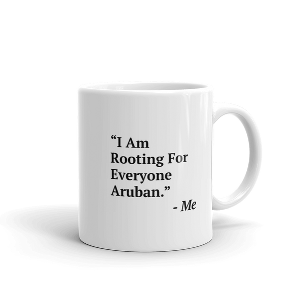 I Am Rooting: Aruba Mug