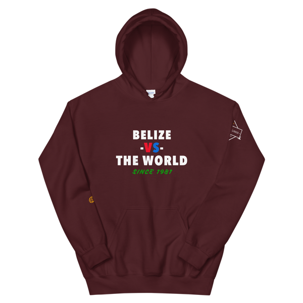 Belize -vs- The World Unisex Hoodie