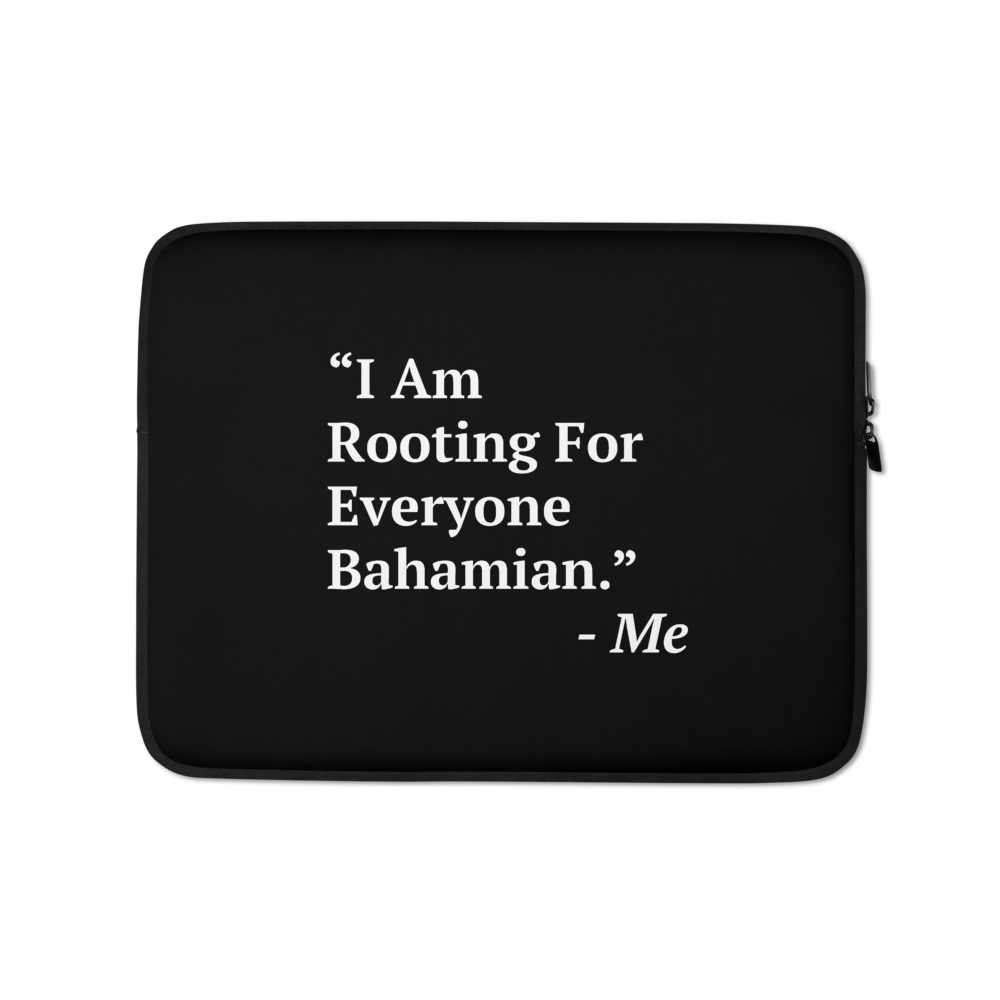 I Am Rooting: Bahamas Laptop Sleeve