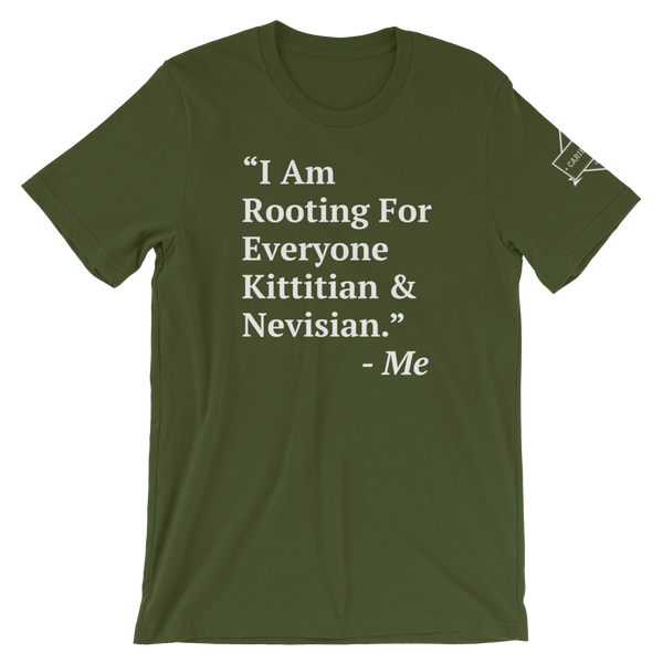 I Am Rooting: St. Kitts & Nevis T-Shirt