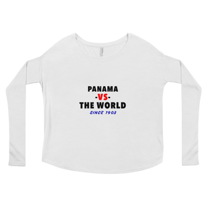 Panama -vs- The World Ladies' Long Sleeve Tee