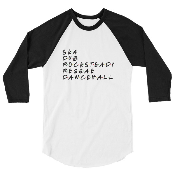 Dancehall Musicology Raglan shirt