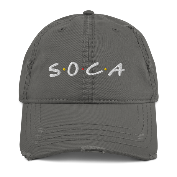 Soca Musicology Distressed Dad Hat