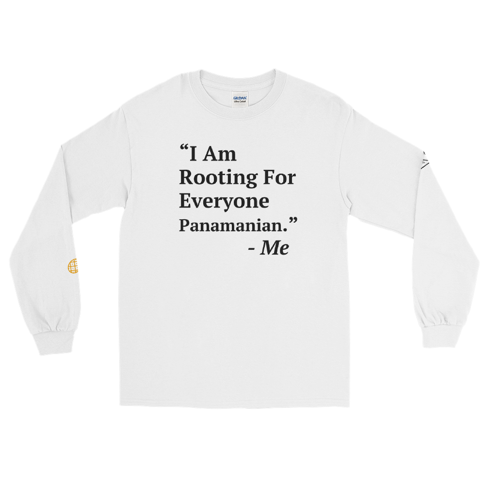I Am Rooting: Panama Men's Long Sleeve Shirt