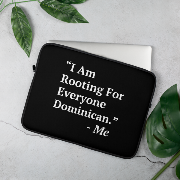 I Am Rooting: Dominican Republic Laptop Sleeve
