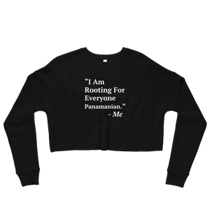 I Am Rooting: Panama Crop Sweatshirt