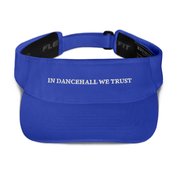 In Dancehall We Trust Visor