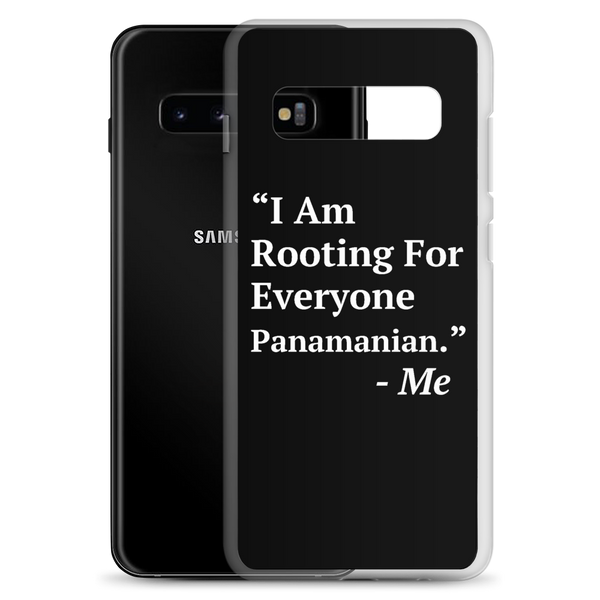 I Am Rooting: Panama Samsung Case