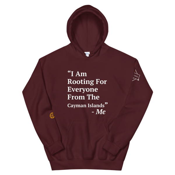 I Am Rooting: Cayman Islands Unisex Hoodie