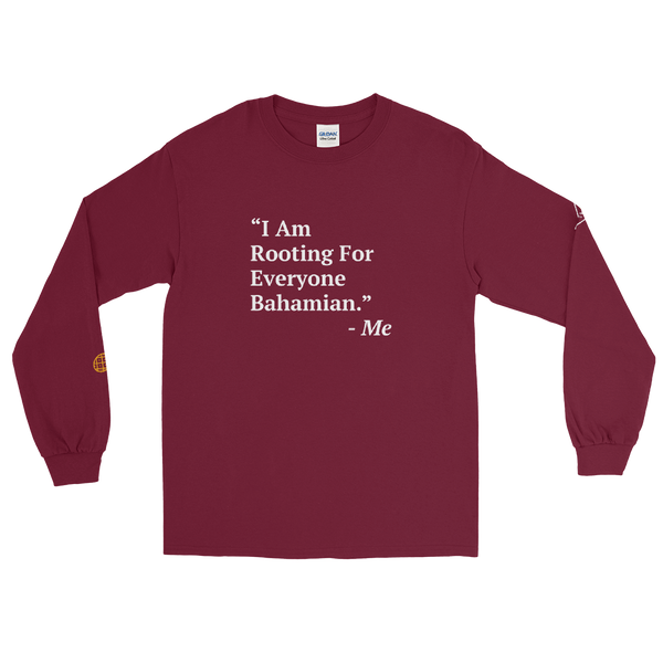 I Am Rooting: Bahamas Long Sleeve T-Shirt