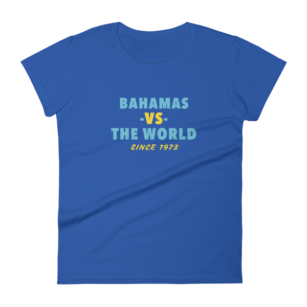 Bahamas -VS- The World Women's t-shirt