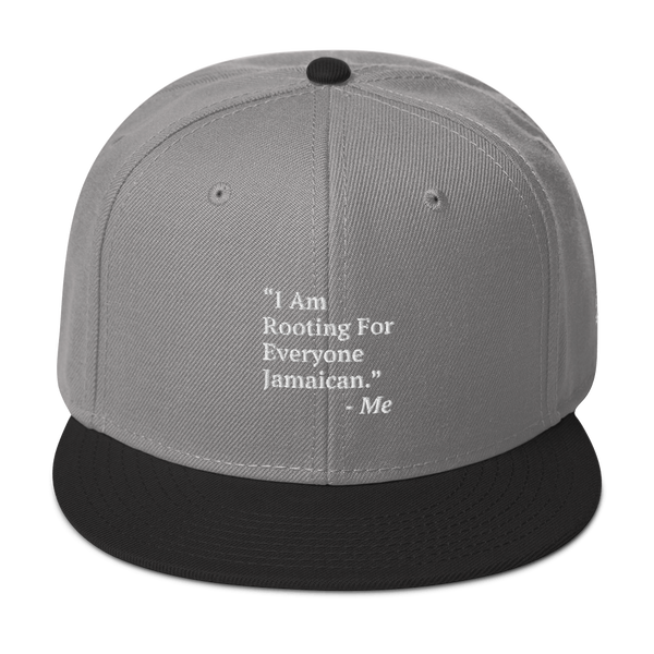 I Am Rooting: Jamaica Snapback Hat