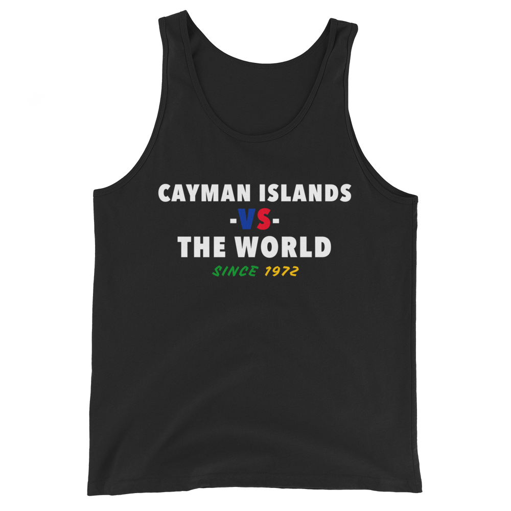 Cayman Islands -vs- The World Tank Top