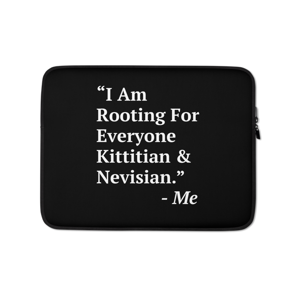 I Am Rooting: St. Kitts & Nevis Laptop Sleeve