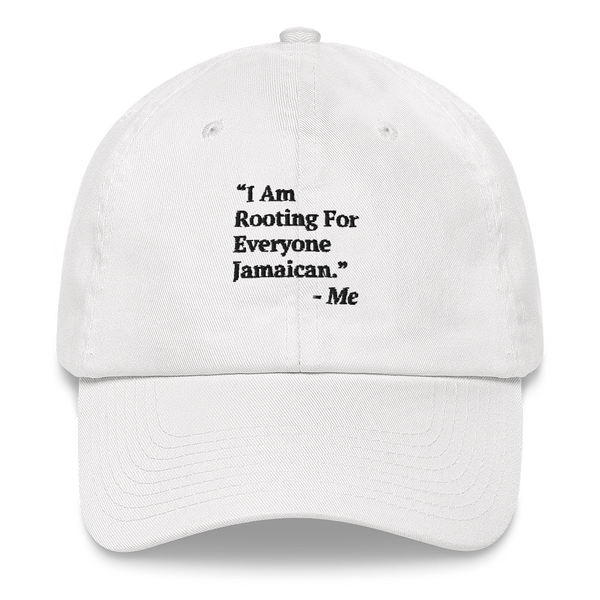 I Am Rooting: Jamaica Dad hat