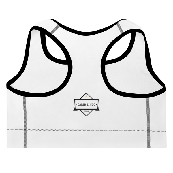 I Am Rooting: West Indian Padded Sports Bra