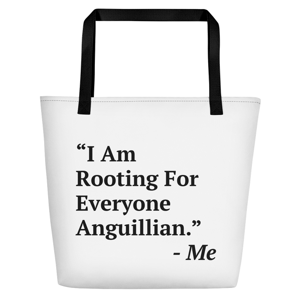 I Am Rooting: Anguilla Beach Bag