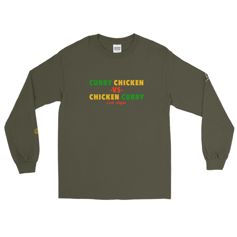 Curry Chicken -vs- Chicken Curry Long Sleeve T-Shirt