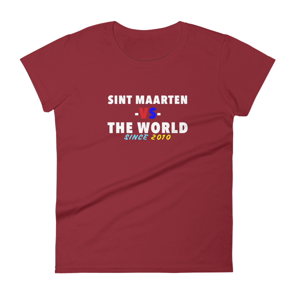 Sint Maarten -vs- The World Women's t-shirt