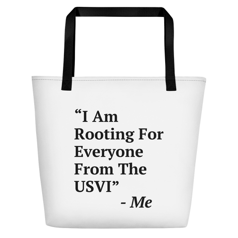 I Am Rooting: USVI Beach Bag