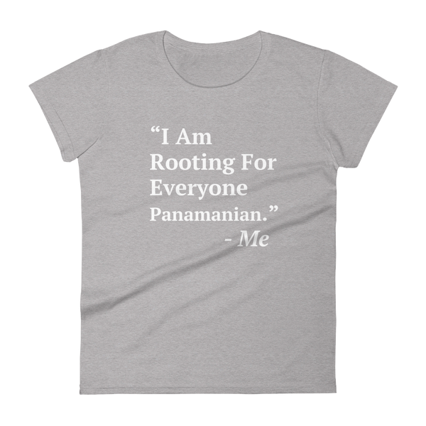 I Am Rooting: Panama Women's t-shirt